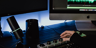 sound editing with our online post production studio